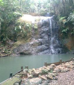 colo-i-suva waterfull near Suva Fiji