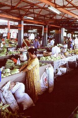 Fiji foods market