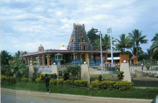 Fiji Hindi templen in Nadi Fiji