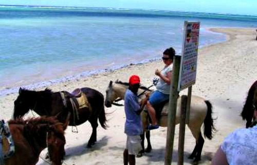 Fiji vacations and horseback riding