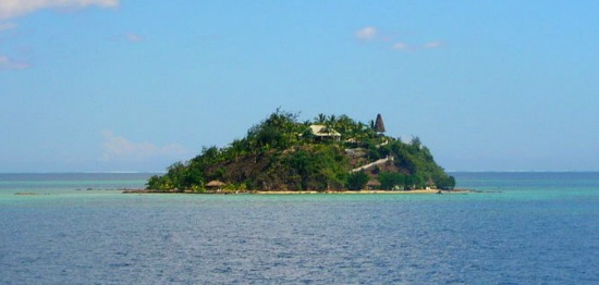 Your very own private Fiji island for rent.