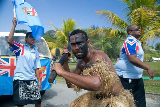 fiji native warrior