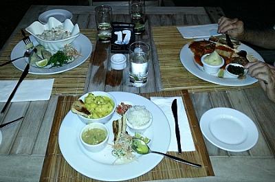 Fijian food at Nadina's restaurant, Denarau Island, Fiji