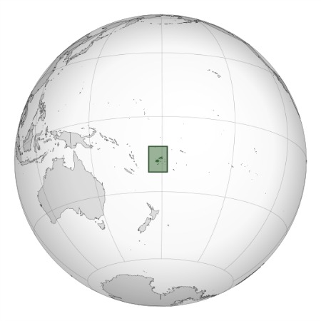 Maps of Fiji with this world map