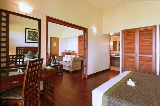 Naviti Fiji villa interior