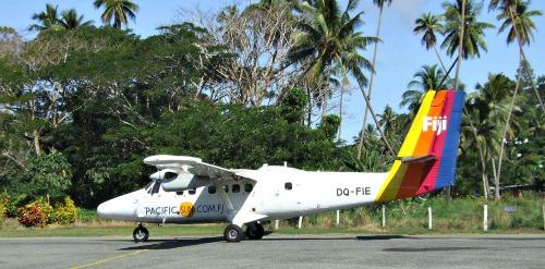 Fiji vacations - pacific sun airplane