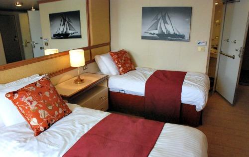 Fiji cruises - inside a ocean liner