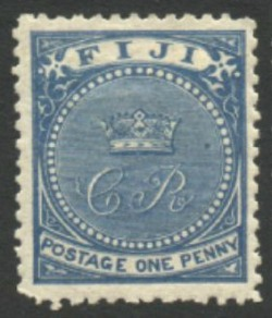 Post Fiji stamp 1871