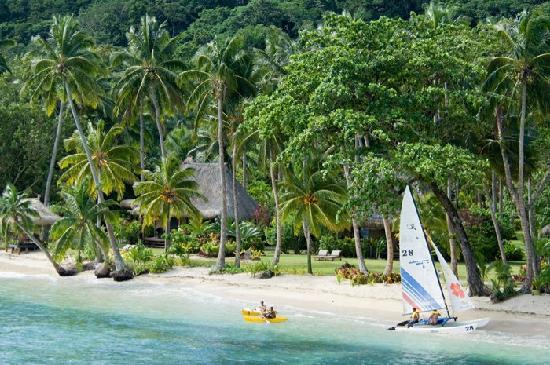 qamea resort Fiji on a Fiji vacation