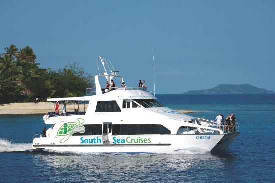 Take a Fiji cruise with South Sea Cruises