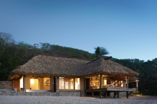 Yasawa Island Resort & Spa's beachside Spa