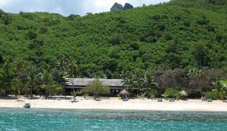 A Fiji resort on Waya island
