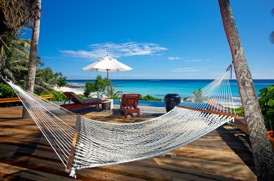 A Yasawa Island Resort & Spa hammock