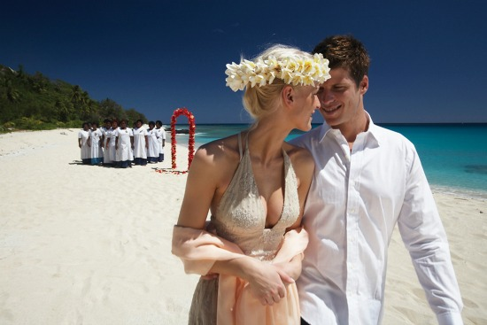 Yasawa Island Resort & Spa wedding