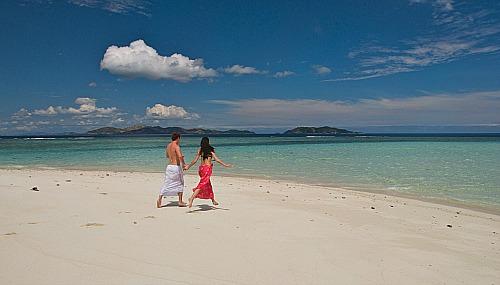 Fiji romance at Castaway Island