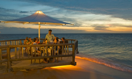 all inclusive vacations in Fiji sometimes includes dinner