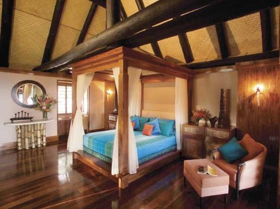 Jean-Michel Cousteau Fiji Islands Resort villa interior
