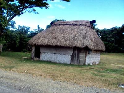 Traditional Fijian bure