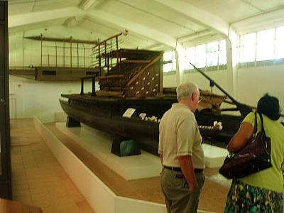 A ocean-going boat from long ago