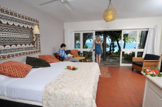 Treasure Island Fiji bure interior