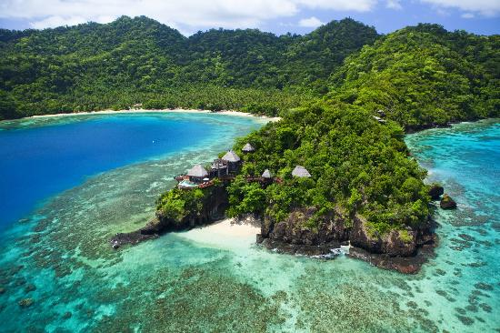 Hilltop residence at Laucala Resort Fiji