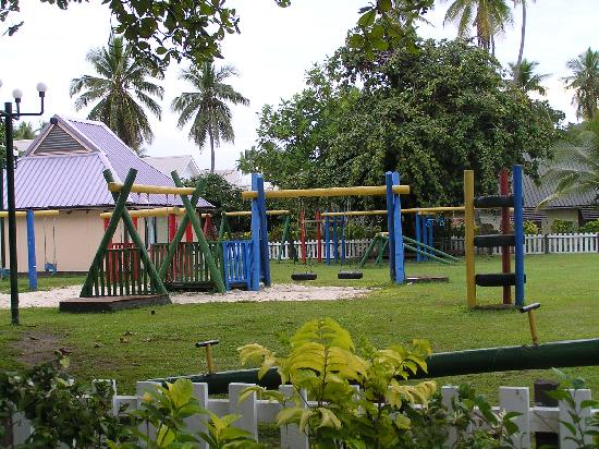 Mana Island Resort Fiji, kids playground
