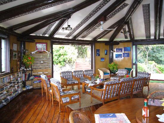 The clubhouse at Moody's Namena Resort, Fiji