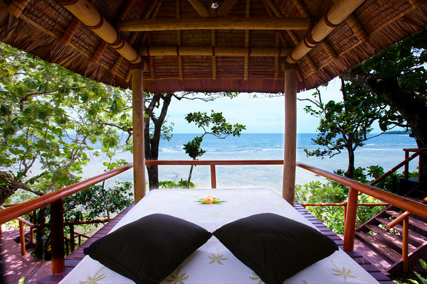 Massage bure at Namale Resort Fiji