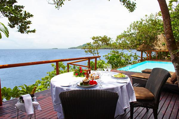 A Fiji honeymoon vacation at Namale Resort