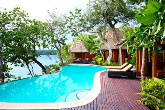 Your private pool at Namale Resort & Spa in Fiji