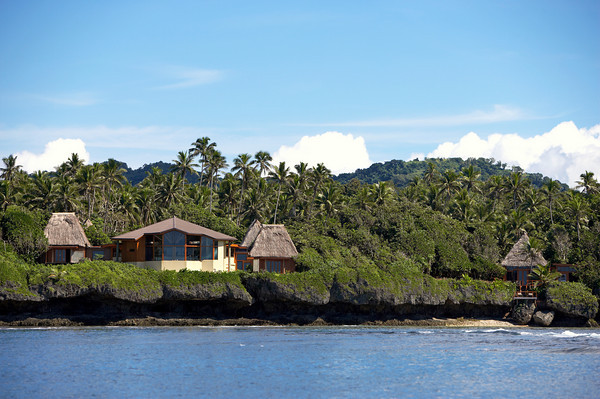 Clifftop spa at Namale Fiji Resort & Spa