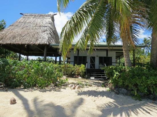 Bure at Nukubati Island Resort Fiji