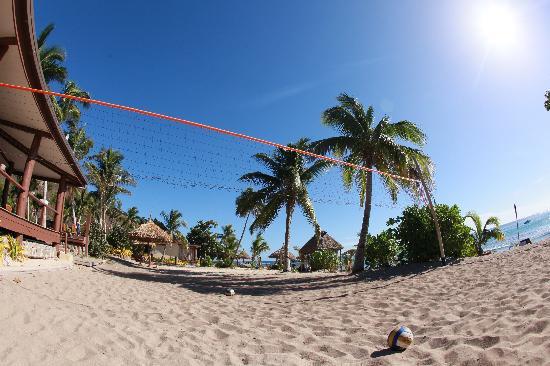 Octopus Resort Fiji volleyball