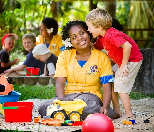 Kids club at The Outrigger on the Lagoon Fiji