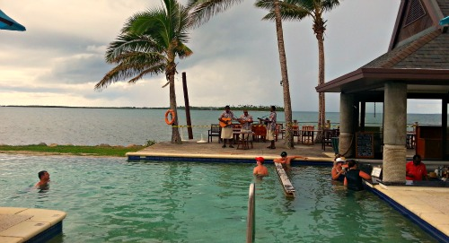 Sheraton Fiji resort pool bar