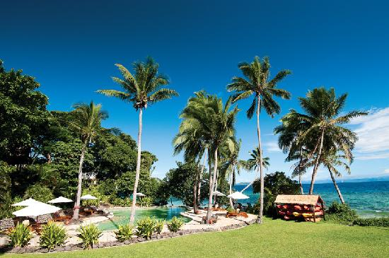 Royal Davui Island Resort pool in Fiji