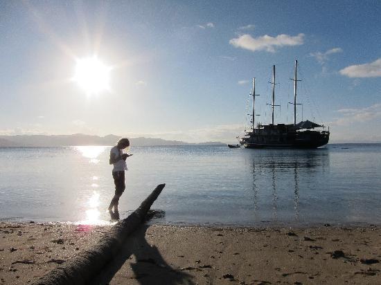 A cruise Fiji photo