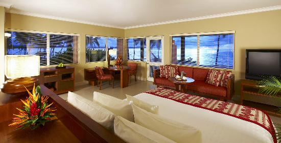 Sheraton Fiji inside ocean view room