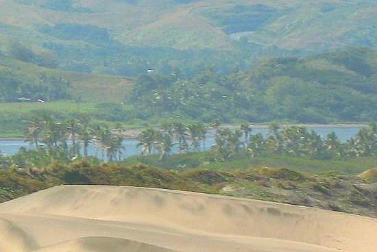sigatoka sand dunes in Fiji