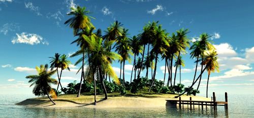 It's possible to own your own Fiji island.