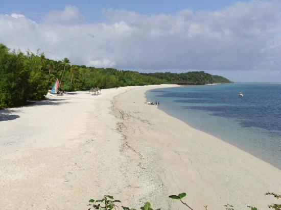 Beach at Vatulele Island Resort