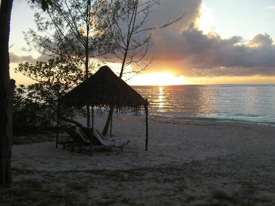 View from bure at Vatulele Island Resort Fiji