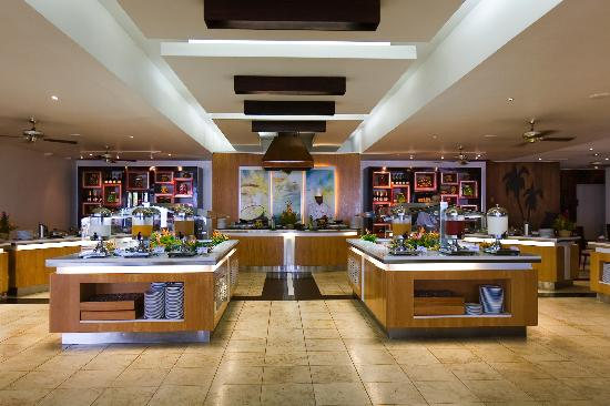 The Warwick Fiji Resort and Spa - one of their five restaurants