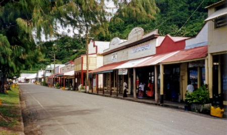 The rustic old town of Levuka away from the fancy Fiji resorts
