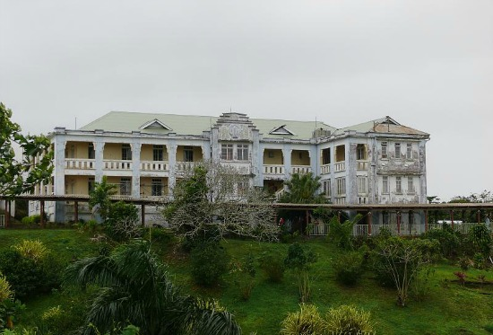 Colonial hospital building in Suva Fiji