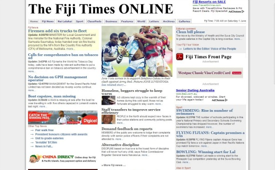 The Fiji Times Online