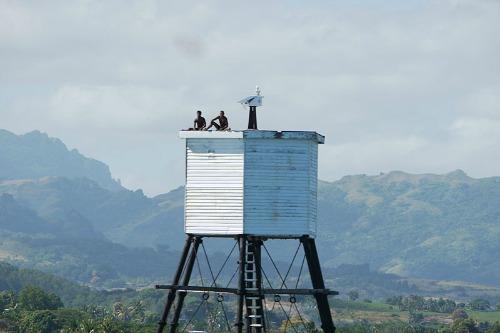 Fiji water tank