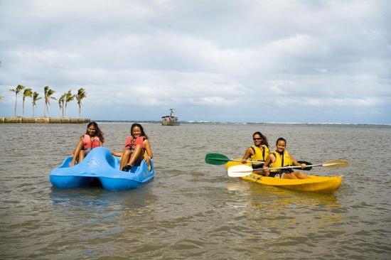 Tonnes of activities at Naviti Resort Fiji