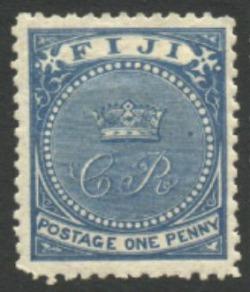 Post Fiji stamp 1871