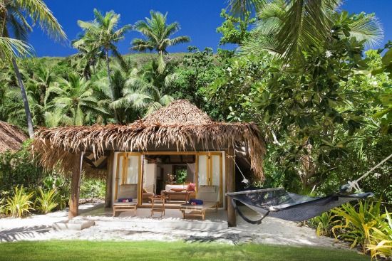 Adults only Tokoriki Island Resort is ideal for a Fiji honeymoon